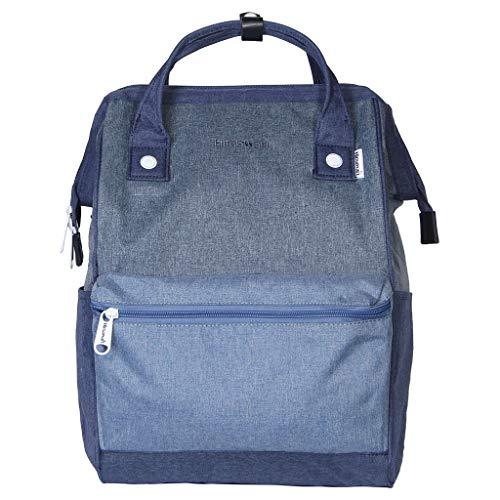 Himawari Polyester Backpack Vintage Blue USB
