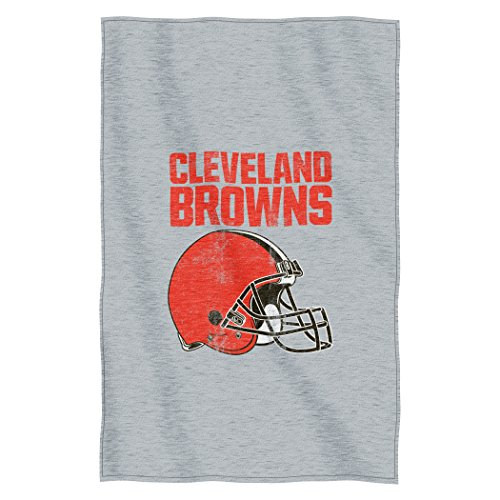 Northwest NFL Cleveland Browns Script Sweatshirt Throw, 5...