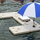Amazon Com Floating Bar With Cooler And Umbrella