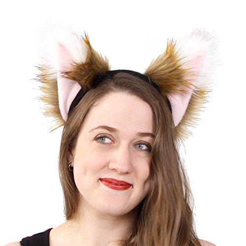 Pawstar Spicy Fox Furry Ear Headband Realistic