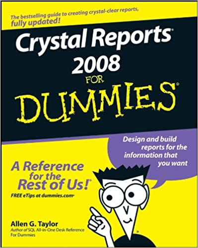 Crystal reports 2008 complete reference ebook free