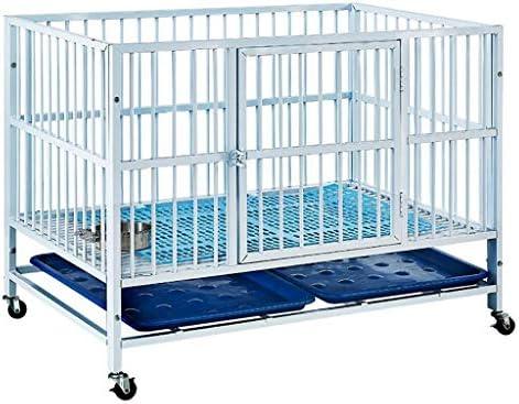 Jaula de perro Pequeño perro mediano y gran jaula de exhibición de ...