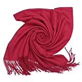 #7: Niaiwei Cashmere Scarf Blanket Large Soft Pashmina Shawl Wrap For Men and Women