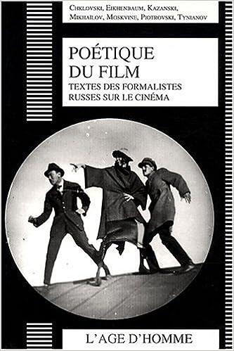 Livre gratuits Poétique du film : Textes des formalistes russes sur le cinéma epub, pdf