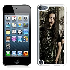 Beautiful Designed Cover Case With Black Tide Haircut Hair Graffiti House (2) For iPod Touch 5 Phone Case