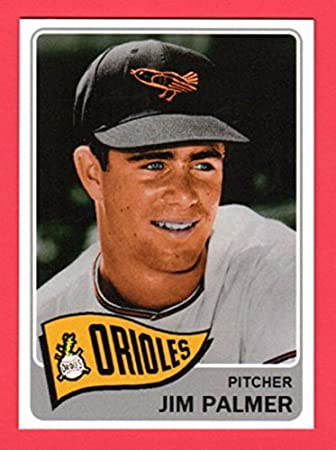 Jim Palmer 1965 Topps Style Rookie Baseball Card What If Card