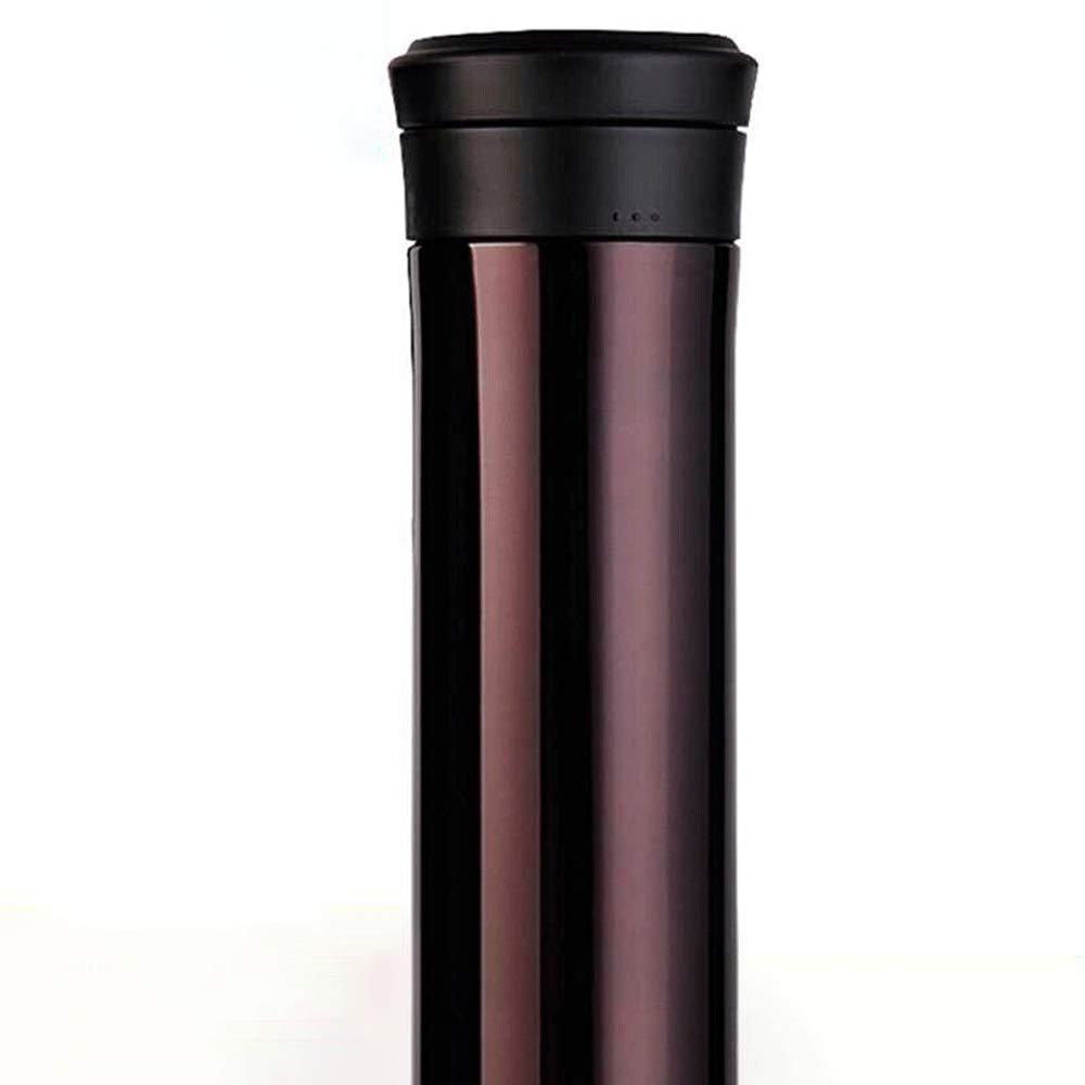 最適な材料 フィルターティーカップのオフィスカップが付いている魔法瓶のステンレス鋼の真空カップの男性そして女性 (色 ブラウン : ブラウン ぶらうん, サイズ ぶらうん ぶらうん, さいず : 350ML) 350ML ブラウン ぶらうん B07RBNC57F, 由岐町:d5c2ae36 --- a0267596.xsph.ru