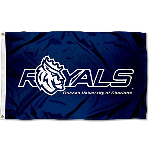 (College Flags and Banners Co. Queens University Royals Flag )