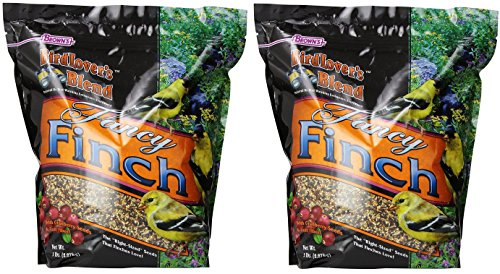 (2 Pack) F.M. Brown's Bird Lover's Blend Fancy Finch with Cranberries, 5-Pound each