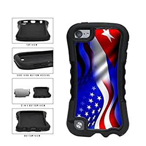 Cuba and USA Mixed Flag 2-Piece Dual Layer Phone Case Back For LG G2 Case Cover Generation