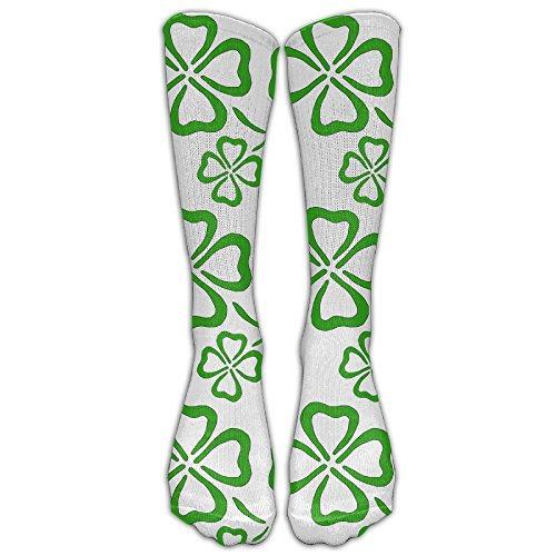 Shamrock Lover Long Dress Socks Football Sports Socks Casual Over-the-Calf (Shamrock Elf)