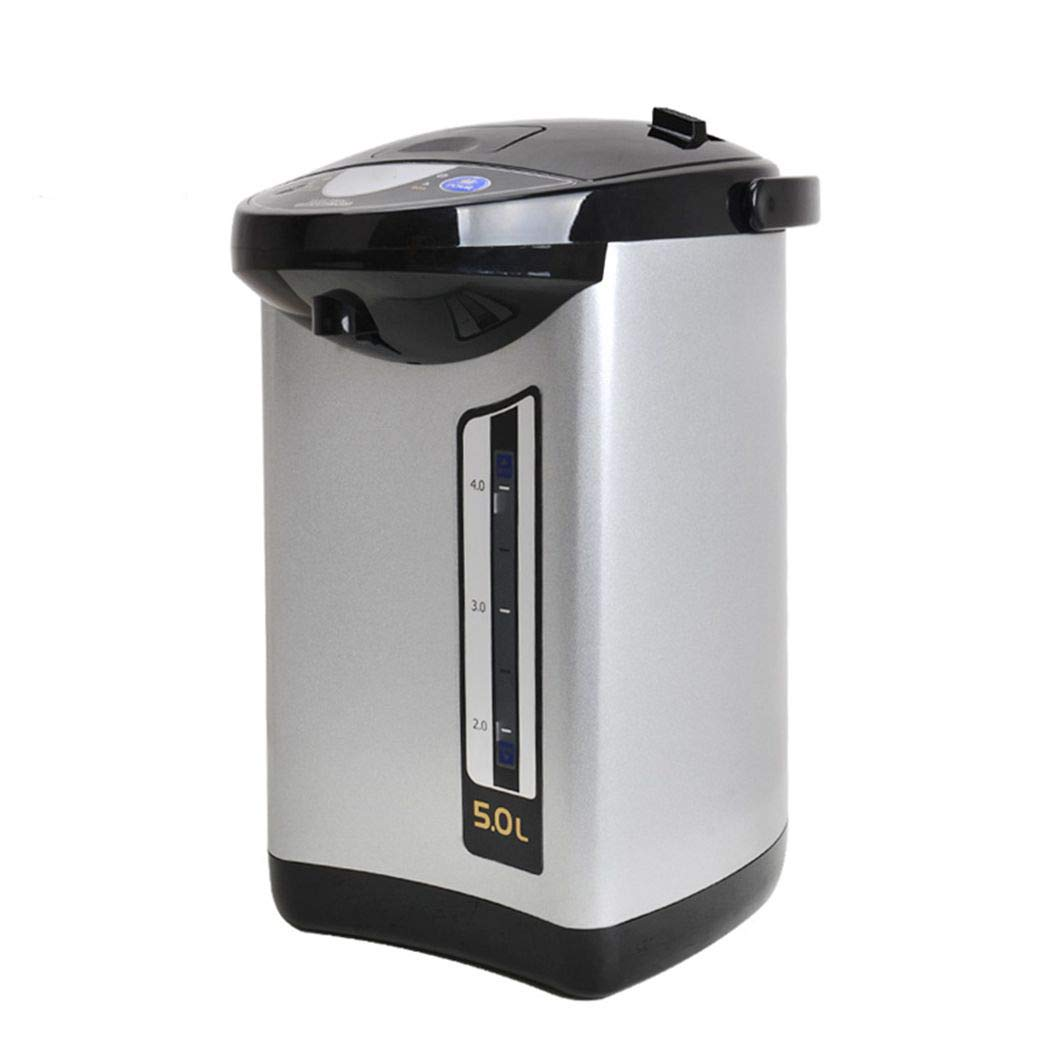 5-Liter LCD Water Boiler and Warmer, Food Grade Stainless Steel Inner Pot Auto Boiler Shut Off Electric Hot Water Kettle