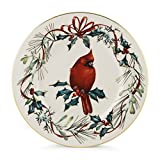 Lenox Winter Greetings Cardinal 9'' Accent Plate