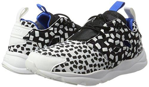Furylite Sneaker nero Reebok Contempora Donna Bianco Fqn8x7Ta
