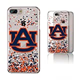 Keyscaper NCAA Auburn Tigers KCLR7X-0AUB-FETTI1 Apple iPhone Clear Case, iPhone 8 Plus/7 Plus/6 Plus, Clear