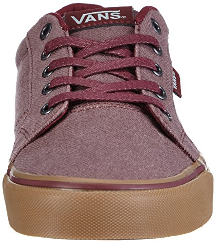 Vans M Camden Washed, Men's Low-Top Sneakers Red