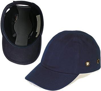 Babimax Gorra de Protección Industrial Antigolpes Unisex Seguridad ...