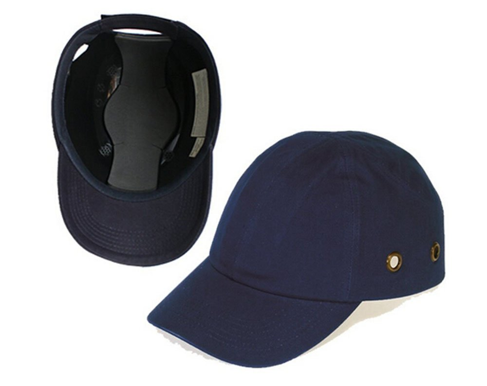 Babimax Baseball Bump Ball Cap - Lightweight Safety Hard Hat Head Protection Cap Hat(4 breathable holes) FAT-002