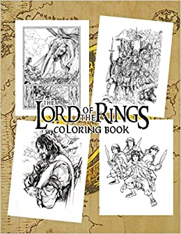 lotr coloring page   Lord Of The Rings Coloring Pages - Fantasy ...   336x260