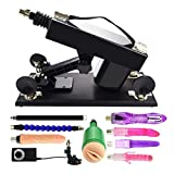 Realdios Automatic Adjustable Love Sex Machine Gun With Anal Dildo For Men And Women Masturbation Fucking Machine Device(AL4)