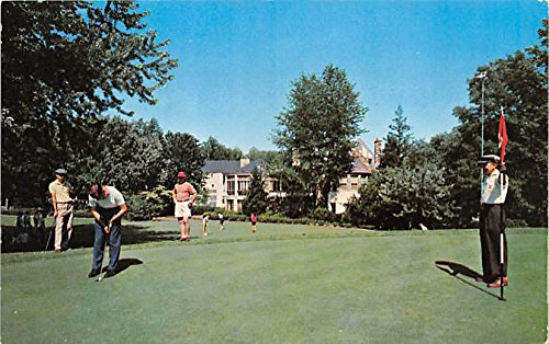 Kenwood Golf and Country Club Bethesda, Maryland, MD, USA Old Vintage Golf Postcard Post Card
