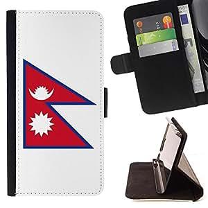 Kingstore / - La bandera de País de Nepal - Samsung Galaxy S6 EDGE