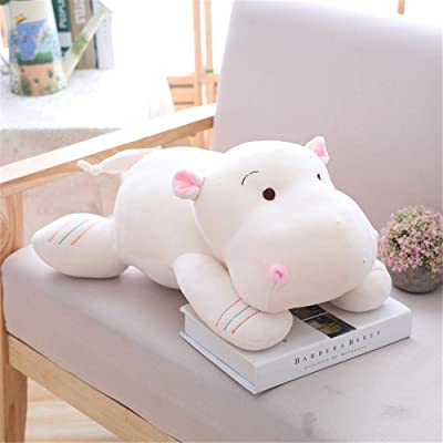 SXPC Plush Software Cartoon Down Cotton Hippo Pillow Doll Children's Gift Plush Toys: Sports & Outdoors