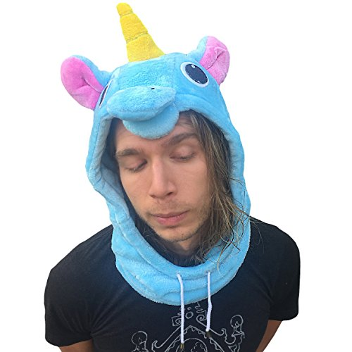 Animal Hood Onesie Hat - Fun Costume, Cosplay,