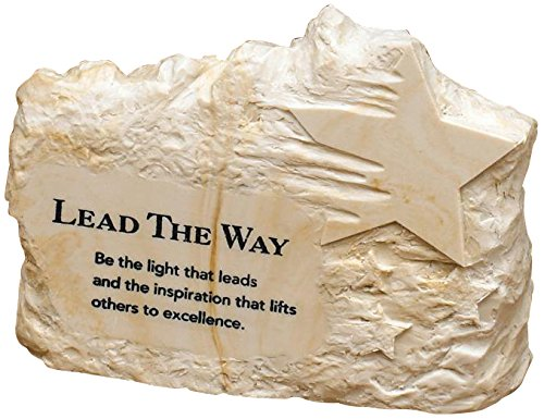 Successories 721866 Lead The Way Stone Image Paperweight