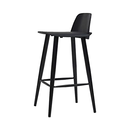 Miraculous Amazon Com Barstools High Chair Pp Material Bar Stool Andrewgaddart Wooden Chair Designs For Living Room Andrewgaddartcom