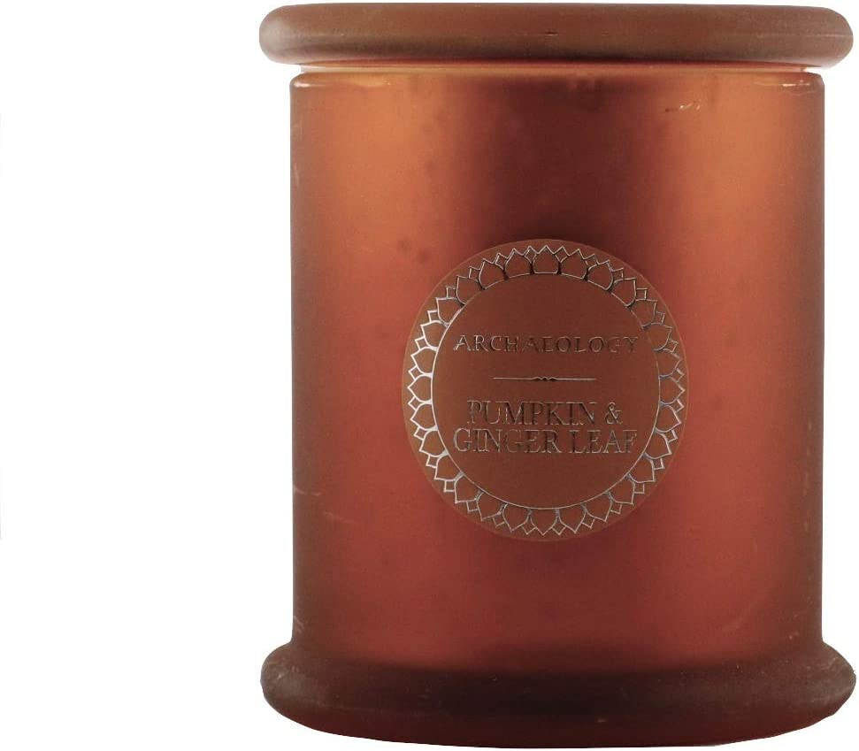 Archaeology Richly Scented Candle Pumpkin & Ginger Leaf