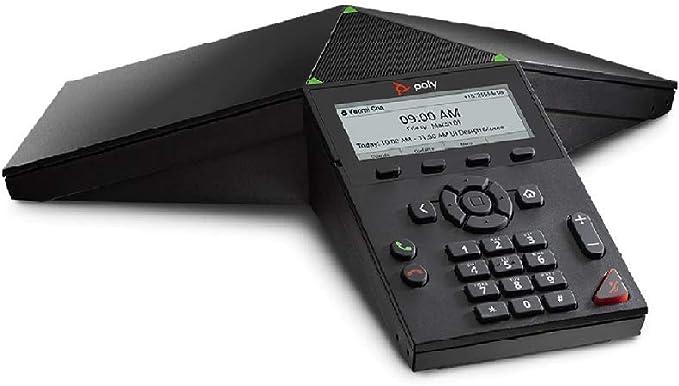 Poly Audio Konferenzsystem Trio 8300 Sip Ohne Netzteil One Touch Join Poe Schwarz
