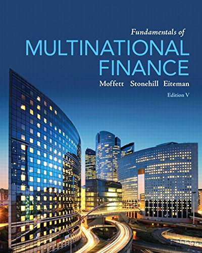 205989756 - Fundamentals of Multinational Finance (5th Edition) (Pearson Series in Finance)