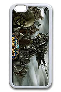 iPhone 6 Case - Best Water Resistant Case Cover for iPhone 6 Wow World Of Warcraft 2 Protective White Soft Back Case for iPhone 6 4.7 Inches