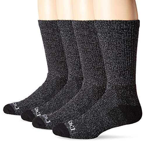 - Dickies Men's Steel Toe Moisture Control Crew Socks (2 & 4 Packs), Black), Shoe Size: 6-12