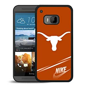 Beautiful Designed Case With NCAA Big 12 Conference Big12 Football Texas Longhorns 3 Black For HTC ONE M9 Phone Case