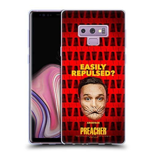 Official Preacher A Face Season 3 Character Art Soft Gel Case for Samsung Galaxy Note9 / Note 9