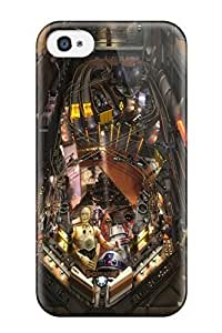 Defender Case With Nice Appearance (star Wars Pinball Heroes Within) For Iphone 4/4s