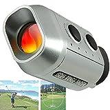MMRM Mini Digital Golf Range Finder Golfscope Scope Yards Measure Distance - 7X Magnification