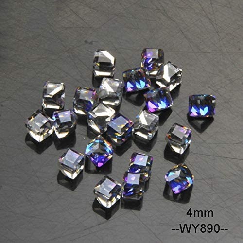 Amazon.com: Nails Art Accessories - 20pcs 3D Glass Crystal Nail Charms Rhinestones For Nails Geometric Cube Square DIY Nails Decorations 3D Nail Art Nail Jewels Nail Rhinestones And Charms- WY890: Home Improvement