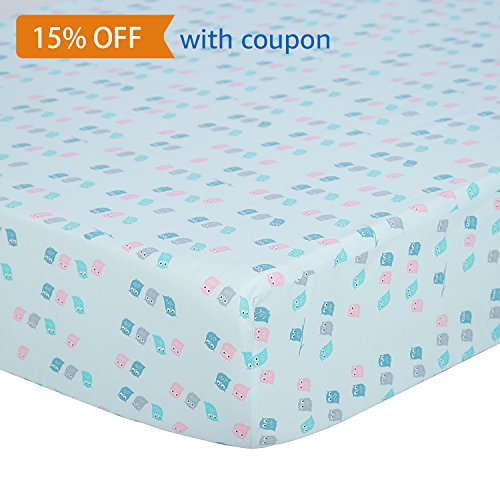 fitted crib sheet owl - 5