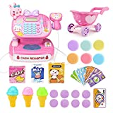 Studyset Simulation Multi-functional Cash Register Toy Educational Pretend Play Operated Toy Working Calculator Scanner Set
