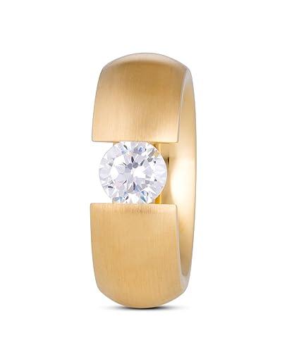 kauf verkauf Neupreis innovatives Design Tamaris Ring Scarlet Edelstahl