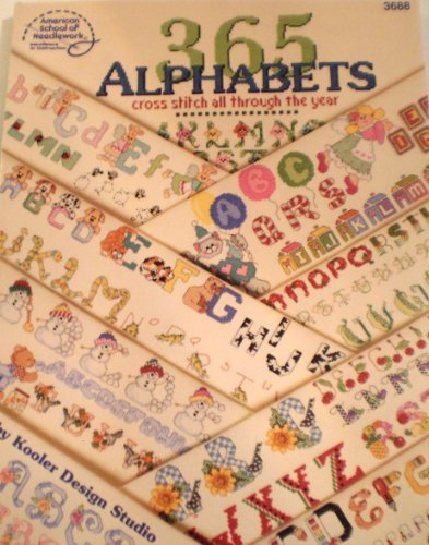365 Alphabets: Cross Stitch All Through the Year ()