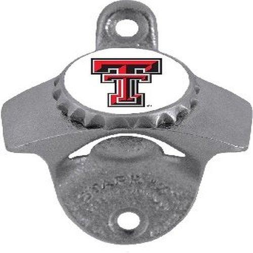 NCAA Texas Tech Red Raiders Wall Bottle Opener by Siskiyou (Image #1)