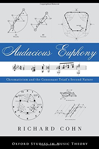 Audacious Euphony: Chromatic Harmony and the Triad's Second Nature (Oxford Studies in Music Theory) [Richard Cohn] (Tapa Dura)