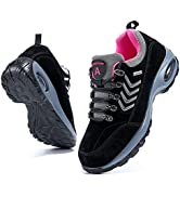 Ablanczoom Womens Walking Shoes Sock Sneakers Comfortable Mesh Wedges Platform Shoe Slip On Air C...