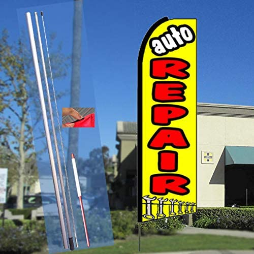 Pack of 20 hardware not included stop stop sale King Swooper Feather Flag Sign