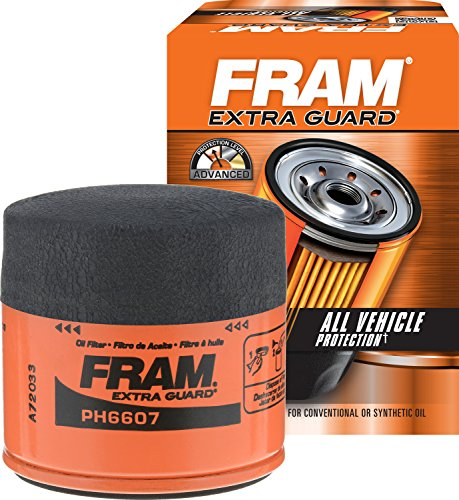 FRAM PH6607 Extra Guard Passenger Car Spin-On Oil Filter