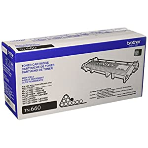 Ratings and reviews for Brother Genuine High-Yield Toner Cartridge, TN660, Replacement Black Toner, Page Yield Up To 2,600 Pages,  Amazon Dash Replenishment
